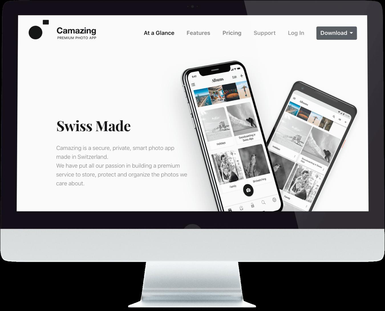 camazing sito web