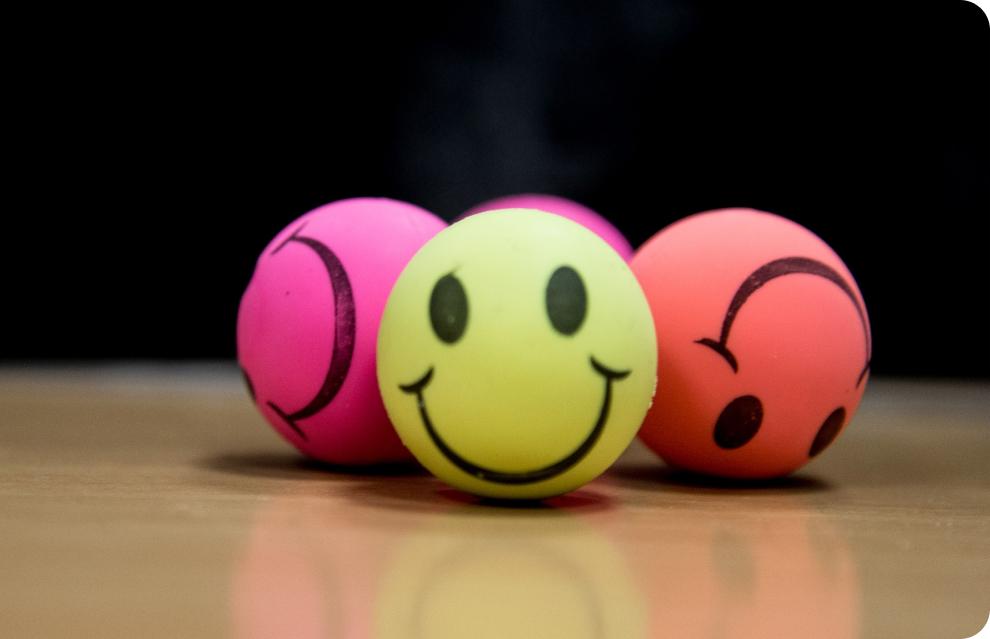 palline sorridenti
