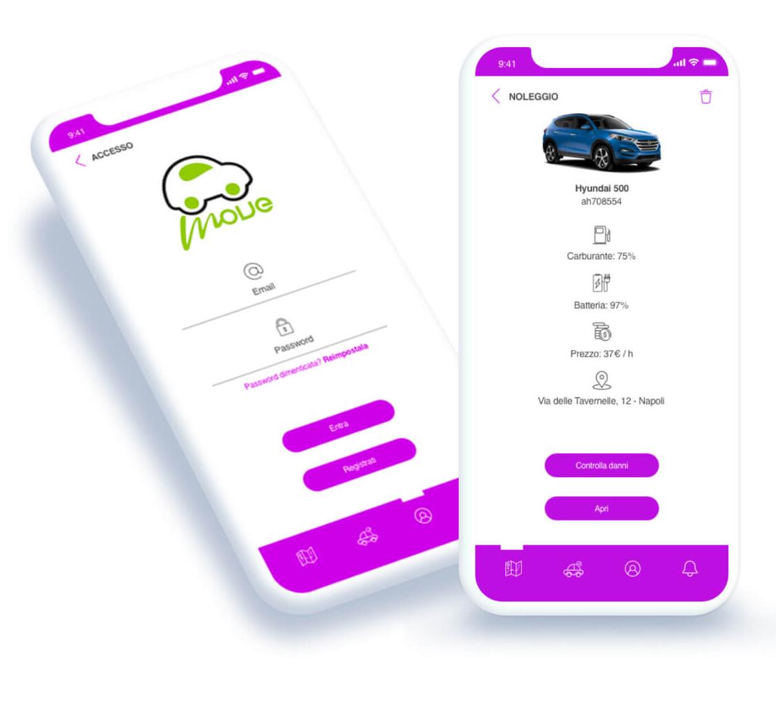 Move-EcoSharing app